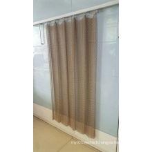 Brass Chainlink Mesh Curtain
