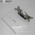 YGC-011 Chine fabrication 125 V 15A gfci étanche interrupteur couverture