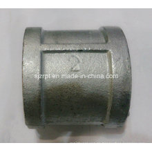 """Acoplamiento galvanizado de 2 """"con acoplamiento de tubo maleable de hierro"""
