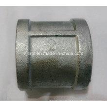 """Acoplamento galvanizado de 2 """"Conexão de tubulação de ferro maleável"""