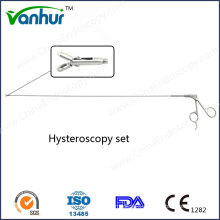 Hysteroscopy/Uteroscope Set Rigid Biopsy Forceps