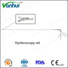 Гистероскопия / Утероскоп Набор Жесткие щипцы для биопсии