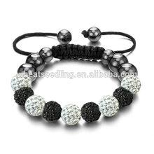Оптовые регулируемые браслеты австрийских кристаллов Shamballa браслеты
