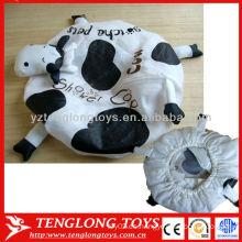 ¡Alta calidad! Gorra de baño de PVC estilo animal de vaca hermosa