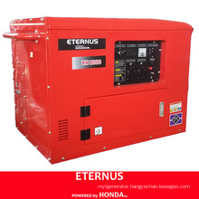 Silent Single-Phase Gasoline Generating Set (BH8000)