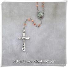 New Pope Francis Rosary, Plastic Rosaries (IO-cr386)