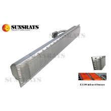 12.8KW Industrial quemador infrarrojo de alta potencia para la venta, solo, CE