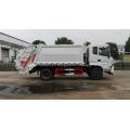 Nuevo camión de basura de compresión de 12 cuadrados