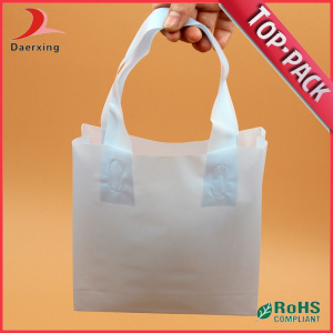Promotional Plastic Flexo Loop Handle Bag