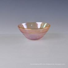 Ion Plating Glass Bowl de lujo