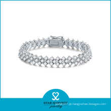 Cheap 925 Sterling Silver Jewelry Pulseira Pulseira (SH-B-0007)