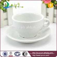 2015 Novo chegar copo de chá de porcelana e pires para venda quente