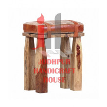 Leather Strap Stool