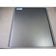 Hot Transfer PVC Panel - Silber Grau