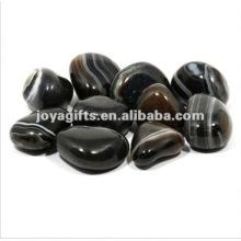 Черный камешек из камня Onyx Gemstone