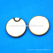 15mm piezoelectric plate ultrasonic transducer piezo ceramic transducer/pzt ceramic piezo crystal                                                                         Quality Choice