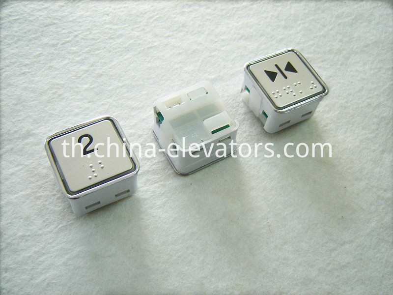 OTIS Elevator Push Buttons DAA10204B Three Pins