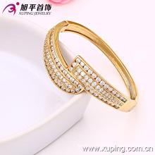 Новый Xuping моды 18k Золотой цвет Big Thick Zircon Bangle
