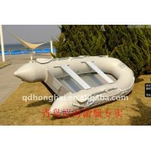 white color 3.3m 6people inflatable life boat ce