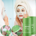 Skincare Beauty Products Private Label Skin Repair and Acne Remove Organic Green Tea Musk Clay Mask Stick Green Musk Stick