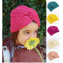 Kids turban cap children bandanas hearwrap hat