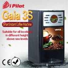 Máquina expendedora de café instantáneo inteligente