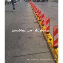 Fabricación de primavera Panel trasero Durable caucho Divisores de carretera