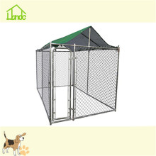 10x10x6 large metal dog fence kennel with waterproof cover