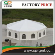 Heißes verkaufendes großes Ereignis-Show-Polygon-Zelt für Verkauf mit Futterdekoration