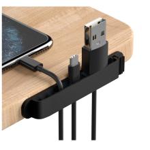 Clips de câble en silicone personnalisés