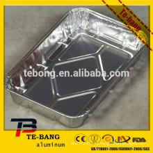 Bandejas de servir de papel de aluminio