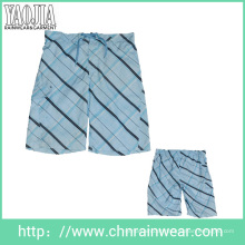Yj-3009 Mens Printed Microfiber Leisure Board Shorts