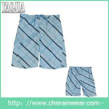 Men's Printied Beach Shorts / Beach Wear com tecido de secagem rápida