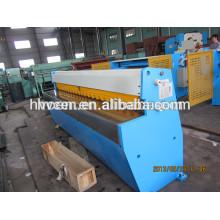 Máquina de corte láser para metal q11-6x2500 / máquina de corte de ángulo