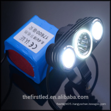 JEXREE Cree-XM-L2 LED Bicycle light with aluminum holder
