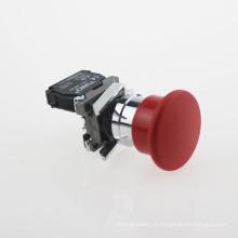 Botão vermelho da emergência da cabeça do cogumelo de Lay4-Bc42 Nc (série XB2)