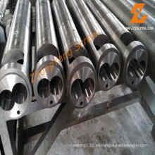 Barril de tornillo paralelo doble Barril de tornillo bimetálico para tubería de PVC / PE / PP, perfil, hoja, cable