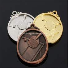 Médaille de sport en or