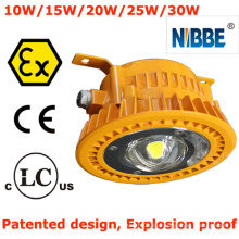 Iluminación a prueba de explosión LED con Atex, CE, RoHS, FCC