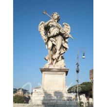 Statues ange de cimetière de conception populaire avec 15 ans de fonderie