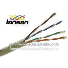 Câble utp cat5e 8 paires pour le câblage des câbles de réseau haute performance