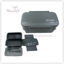 Kunststoff-Vorratsbehälter für Lebensmittel Bento Lunch Box (1310ml)