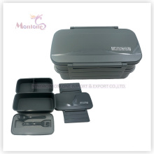 Пластичный контейнер еды коробки обеда bento (1310ml)