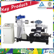 Hydraulic metal pan polishing machine