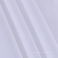Tissu 100% polyester de bonne stabilité de couleur blanche