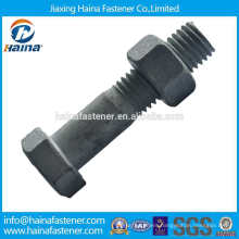 DIN931 Carbon Steel HDG/Hot Dip Galvanized ASTM A490 heavy Hex Bolt