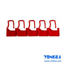 Sceaux des cadenas monobloc en plastique