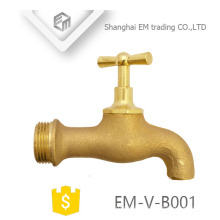 EM-V-B001 Cock type High quality brass male thread Bibcock