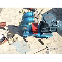 Vehicle circular arc gear pump