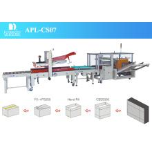 2015 Brother Apl-CS07 Automatische Karton Verpackungslinie
